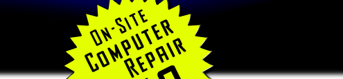 On-Site Computer Repair From $49
